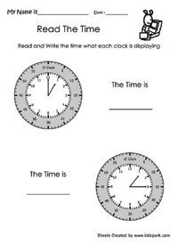 Read The Time - 1
