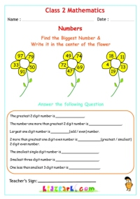 Class 2 Numbers