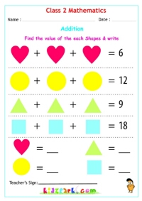 Class 2 Maths - Addition